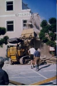 Gemeindeamt Abriss